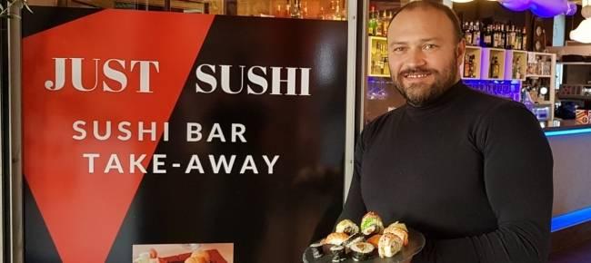 """Un nuovo sushi a Lugano, il Just Café si """"trasforma""""."""